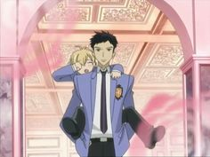 "Takashi ""Mori"" Morinozuka from Ouran Highschool Host Club *bonus* Rhett as Mitsukuni ""Honey"" Haninozuka"