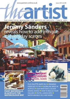 The original practical magazine for all artists - packed with inspiring features - since Simply Knitting, Simply Crochet, Kids Watercolor, Watercolor Flowers, Watercolour, Drawing Exercises, Popular Woodworking, Graffiti Art, Art Tutorials