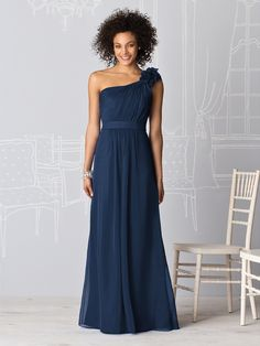 Dessy After Six 6611 in Midnight Blue... I think this is the one!!
