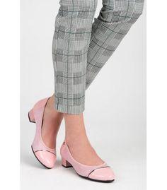 Ležérne topánky  na nízkom podpätku T101-20P Heeled Mules, Flats, Heels, Fashion, Loafers & Slip Ons, Heel, Moda, Fashion Styles, High Heel