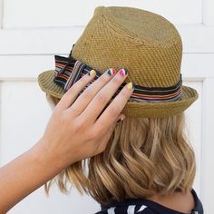 Diagonal nails for summer by #julep on #TheBeautyBoard #Sephora