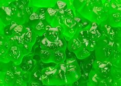Granny Smith Apple Gummi Bears