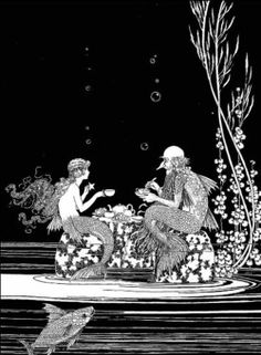 ♒ Mermaids Among Us ♒ art photography & paintings of sea sirens & water maidens - Harry Clarke