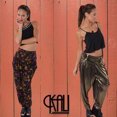 Harem pants by Kali. Shop Kali's bold and fun designs at LastaShop!