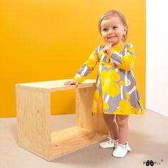 PaaPii Design  MEKKOBODY, Niittyleinikki  Onesie dress, Buttercup Onesie Dress, Buttercup, Onesies, Design, Babies Clothes, Jumpsuits, Baby Onesie