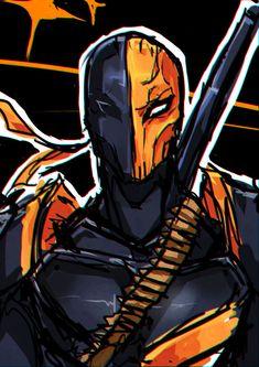 Slade Wilson-Deathstroke by Fritharn Deathstroke Arrow, Deathstroke Comics, Deathstroke Mask, Deathstroke Cosplay, Deathstroke The Terminator, Deadshot, Vigilante, Ninja, Doctor Who Fan Art