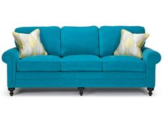 The Dartmouth Collection features the classic Lawson arm, turned Cardiff legs and knife edge back cushions