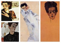 Egon Schiele Collection II (Egon Shiele Self-portrait)