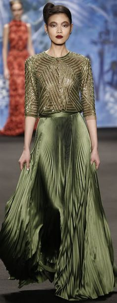 Naeem Khan 2015 RTW FALL Collection - the skirt!