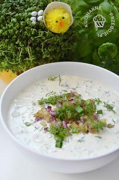 Fish And Chips, Tzatziki, Risotto, Potato Salad, Grains, Potatoes, Ethnic Recipes, Food, Potato