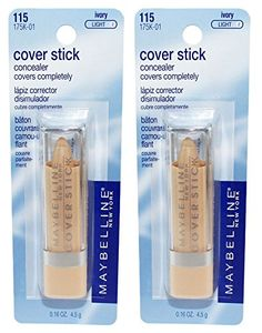 2 pcs MAYBELLINE Cover Stick Corrector/Concealer - Ivory Light 115 (May or may not be sealed/carded) >>> Check this awesome product by going to the link at the image.