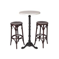 Create That Perfect Parisienne Cafe Feel With Our Wenge Bentwood Stools And  Baroque Faux Marble Top Bar Table. Also Available As Chair U0026 Cafe Table