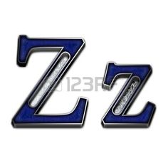 letter z: Metal alphabet symbol for web or writing