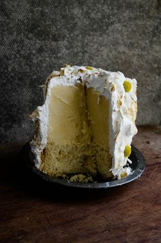 chamomile honey and lemon baked alaska