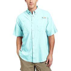 Columbia Men's Tamiami II Short Sleeve Shirt - Gulf Stream