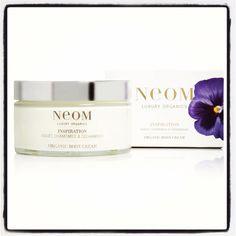 Body cream from Neom