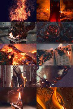 "ichor-veins: ""Element Aesthetic – Fire """