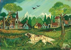 antonio ligabue Henri Rousseau, Naive Art, Teaching Art, Anton, Van Gogh, Folk Art, Primitive, Opera, Artwork