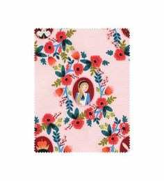 Cotton + Steel - Cameos (rose) - Screen-printed Cotton Fabric
