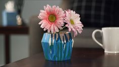 Drip Dye Flower Pot - Create a colorful drip dye flower pot just in time for spring. This brightly colored pot is perfect for a bunch of flowers, stationery storage and more! Craft Stick Crafts, Crafts To Make, Crafts For Kids, Arts And Crafts, Diy Crafts, Dye Flowers, Bunch Of Flowers, Flower Pots, Crayola Crafts
