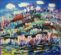 HERBERT SILINŠ | Latvian | Tukums 1926 - 2001. Spring in Abava Valley, n.d.