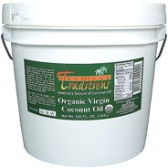 1 gallon organic Green Label Virgin Coconut Oil (128 FL. oz.)  Retail: $110.00  1 gallon Expeller-Pressed Coconut Oil, non-certified (128 FL. oz.)  Retail: $65.00  Total: $175.00  Now: $105.00