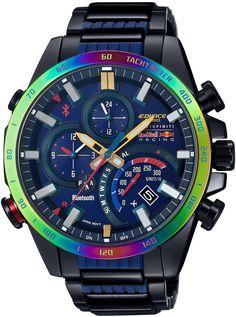 Amazon.co.jp: [カシオ]CASIO 腕時計 EDIFICE Infiniti Red Bull Racing Limited Edition BLUETOOTH SMART対応 EQB-500RBB-2AJR メンズ: 腕時計通販
