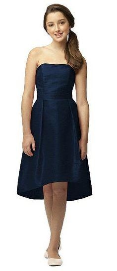 6eeeca8502e Junior Bridesmaid Dress JR516 Navy Bridesmaid Dresses