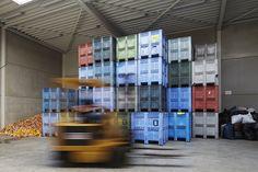 Tongeren Prinsenpark - inrichting van KMO-unit tot magazijn/atelier/showroom/kantoor