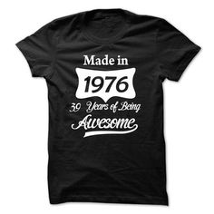1976 - 39 years awesome - #hipster tshirt #long sweater. ADD TO CART => https://www.sunfrog.com/Funny/1976--39-years-awesome.html?68278