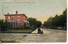 Fostoria Ohio Residence Street Scene Antique Vintage Postcard Grand Rapids Mich   eBay
