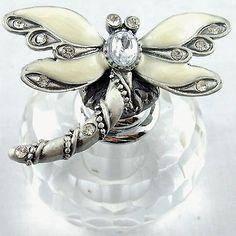 Pewter-Enamel-Dragonfly-Glass-Perfume-Bottle