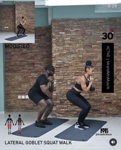 Hiit Workout Videos, Full Body Hiit Workout, Leg Day Workouts, Fitness Workout For Women, Butt Workout, Yoga Fitness, Workout Videos For Men, Workout Partner, Easy Workouts
