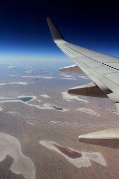 above desert