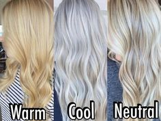 15 Best Maroon Hair Color Ideas of 2019 - Dark, Black & Ombre Colors - Style My Hairs Cool Toned Blonde Hair, Cool Blonde Hair Colour, Yellow Blonde Hair, Perfect Blonde Hair, Which Hair Colour, Blonde Hair Shades, Blonde Hair Toner, Best Blonde Toner, Warm To Cool Blonde
