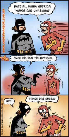 Flash taradão...