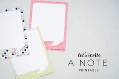 Cards Printable Paper Organization - Planner Organization  - Traveler's Notebook