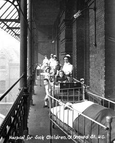 A Victorian hospital.