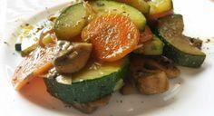 Báječný zeleninový recept s cuketou a šampiňónmi