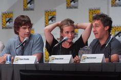 Covert Affairs panel. Comic Con.     I like this one