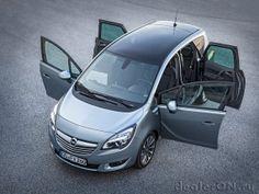 Минивэн Opel Meriva 2014 | Новости автомира на dealerON.ru