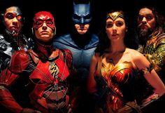 Justice League Team Photo