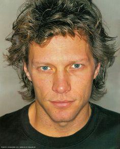Super rare close-up of Jon Bon Jovi