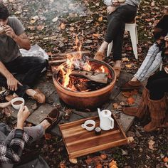 Qotd indoor fireplace or outdoor fireplace/pit?🔥 Aotd outdoor fireplace fireplace bonfire cute fall autumn friends gather together cozy warm goodvibes inside outside familytime lovethis smores love marshmallows yummy cute