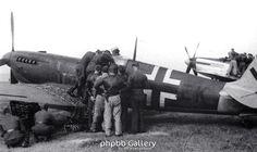Spitfire in Luftwaffe markings