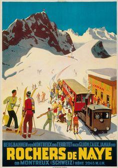 Rochers de Naye - 1924 - (Ernst Otto) -