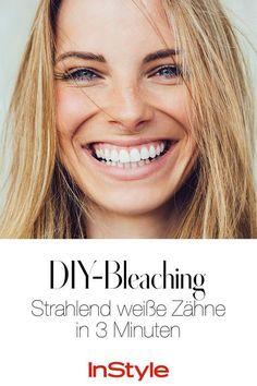 Strahlend weiße Zähne in 3 Minuten? Du brauchst nur diese 2 Dinge! #tipps #lifestyle #beauty #diy #weißezähne