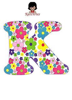 Flower Alphabet, Flower Letters, Alphabet Print, Monogram Alphabet, Welcome Sign Classroom, Wallpaper Do Mickey Mouse, Letter K Design, Arte Floral, Infant Activities