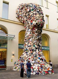 Do you ever feel like you have too many books? #books #recycle #spring cleaning