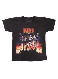 Kiss Destroyer Kids T-Shirt | Hot Topic